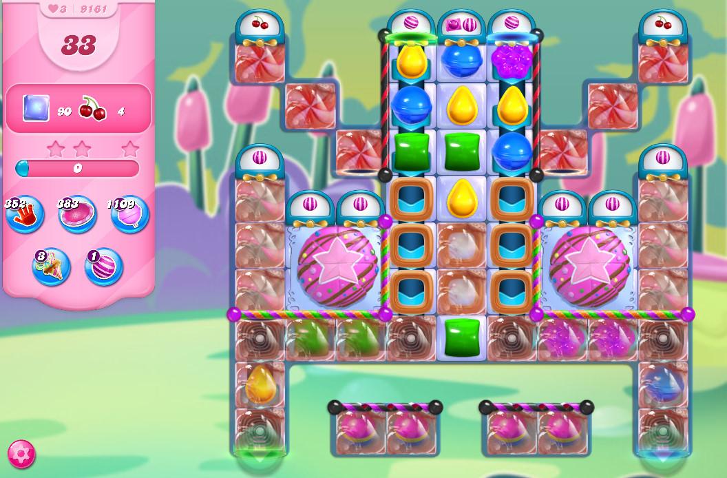 Candy Crush Saga level 9161