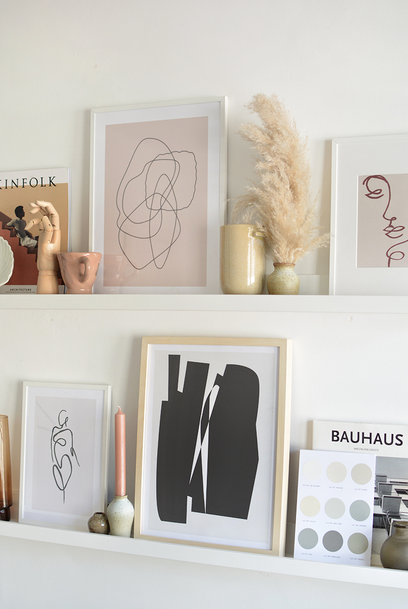 styling tips for shelves