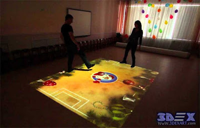 Interactive Floor Projector games for guys