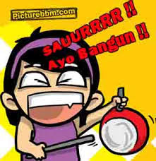 DP BBM Waktunya Sahur