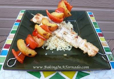 Peachy Chicken | recipe developed by www.BakingInATornado.com | #recipe # dinner
