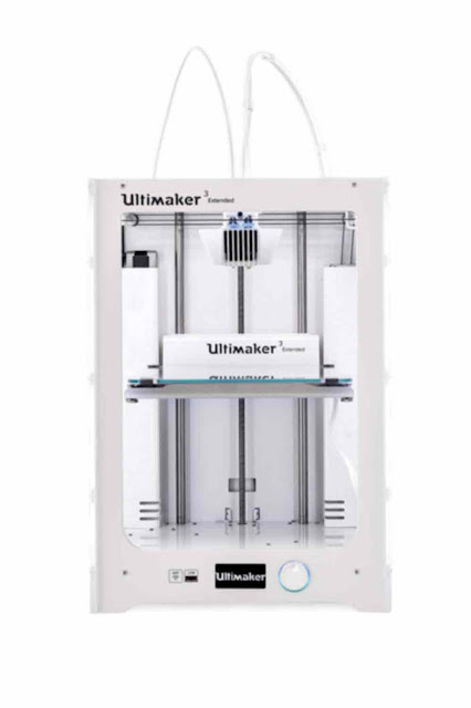 Ultimaker 3 Extended 3D Printer - Best 3D Printer