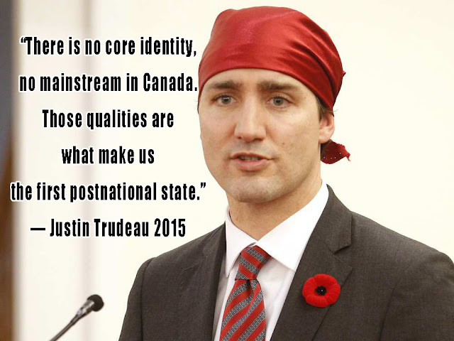 Justin Trudeau: Canada is a postnational state