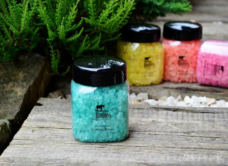 Sole do kąpieli BioOleo Cosmetics - sól Bogactwo Brazylii