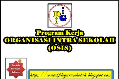 Contoh Program Kerja OSIS SEKBID 8