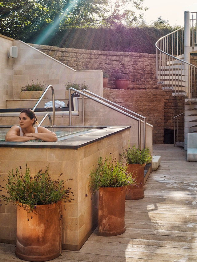 Dormy House Cotswolds Luxury Hotel hot tub