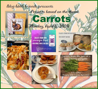 Blog With Friends, a multi-blogger project based post incorporating a theme, Carrots  | Featured on www.BakingInATornado.com