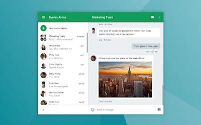 5 Aplikasi Untuk Tingkatkan Produktivitas Bisnis Tim Anda, Sudah Install? - Aplikasi Google Hangout