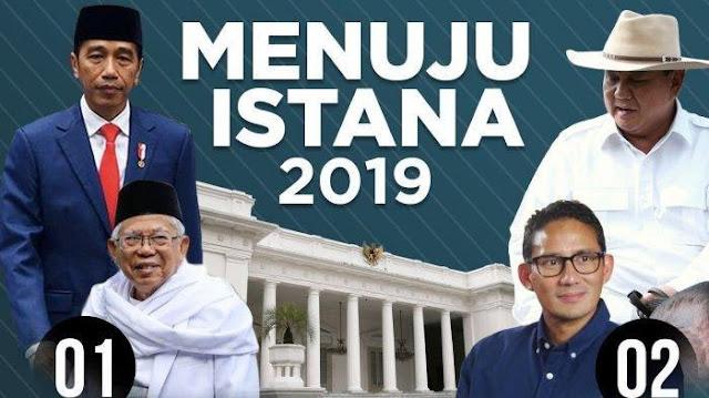UPDATE Hasil Real Count KPU Pilpres 2019 Jokowi Vs Prabowo Terbaru Hari Ini, dari 35 Wilayah Pemilih