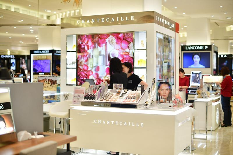 takashimaya chantecaille luxury beauty brand new york city