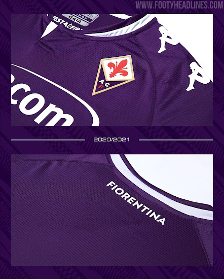 Kappa Fiorentina 20-21 Home & Away Kits Released - No More Le Coq ...