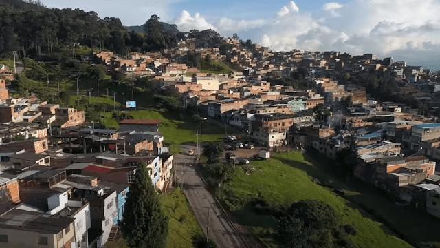 بوغوتا هي عاصمة كولومبيا
