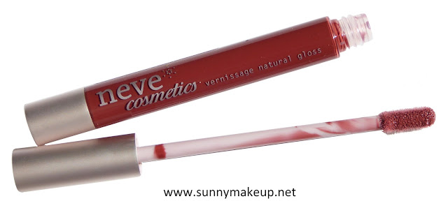 Neve Cosmetics - Vernissage Natural Gloss. Private Collection.