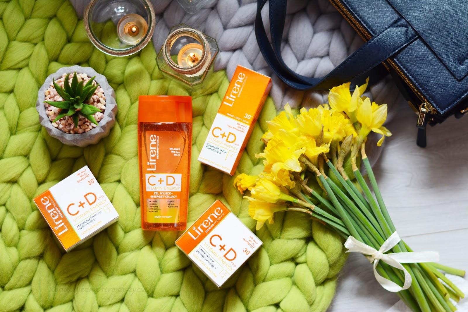 Lirene C+D Pro Vitamin Energy żel, krem, stimuserum