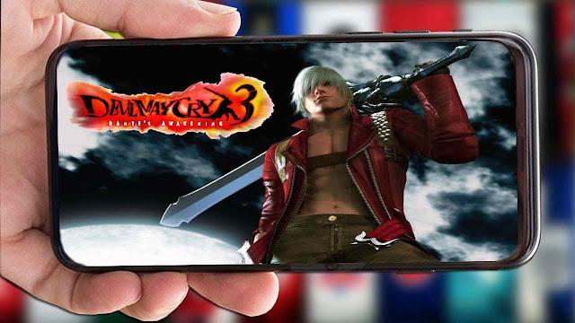 تحميل اللعبة الرهيبة Devil May Cry 3 لمحاكي DamonPS2 للاندرويد 2020