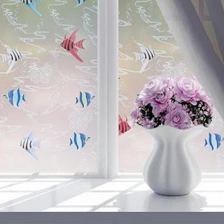 Desain Stiker Kaca Jendela untuk Kamar Anak
