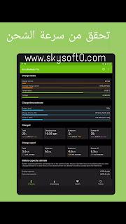تحميل تطبيق ACCUBATTERY للاندرويد لمعرفة استهلاك التطبيقات للبطارية + سرعة الشحن