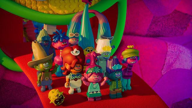Lego Trolls music video