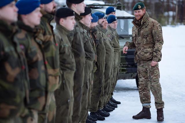 Wizyta księcia Harry'ego w Norwegii