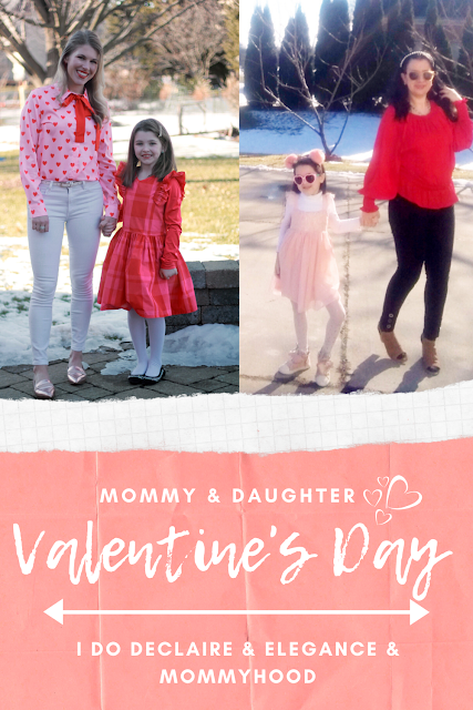 Mommy & Daughter Valentine's Day Style