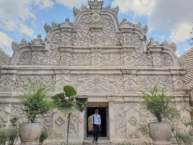 Salah satu bagian dari obyek wisata taman sari, sumber ig @ro_beed