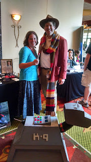 Rivi/ fourth Doctor and K-9