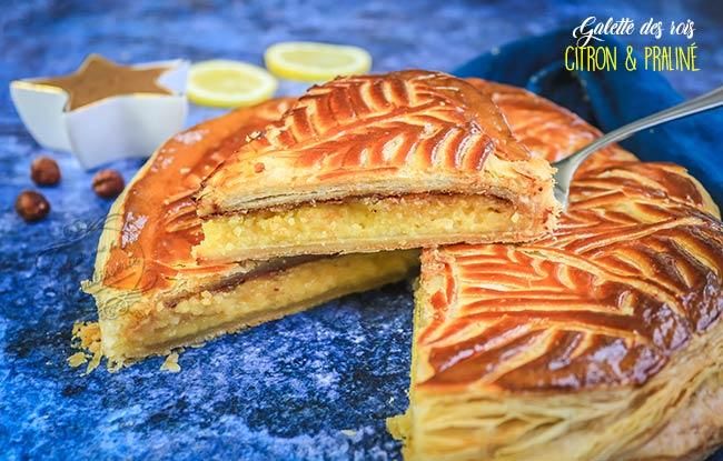 galette des rois citron praliné