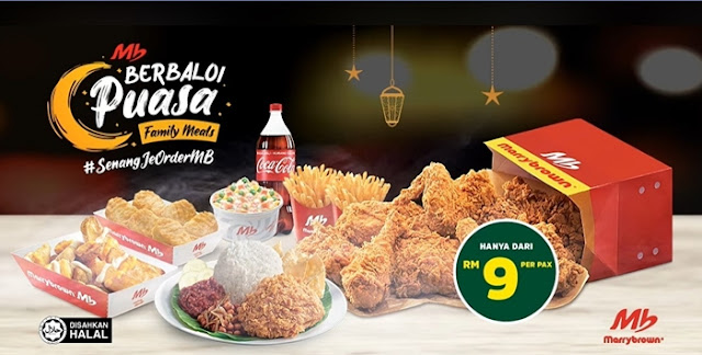 MB Berbaloi Puasa Meals are So Worth It, MB Berbaloi Puasa, Marrybrown, Ramadan Promo, Ramadan 2020, Buka Puasa, Ramadan, Fast Food, Food