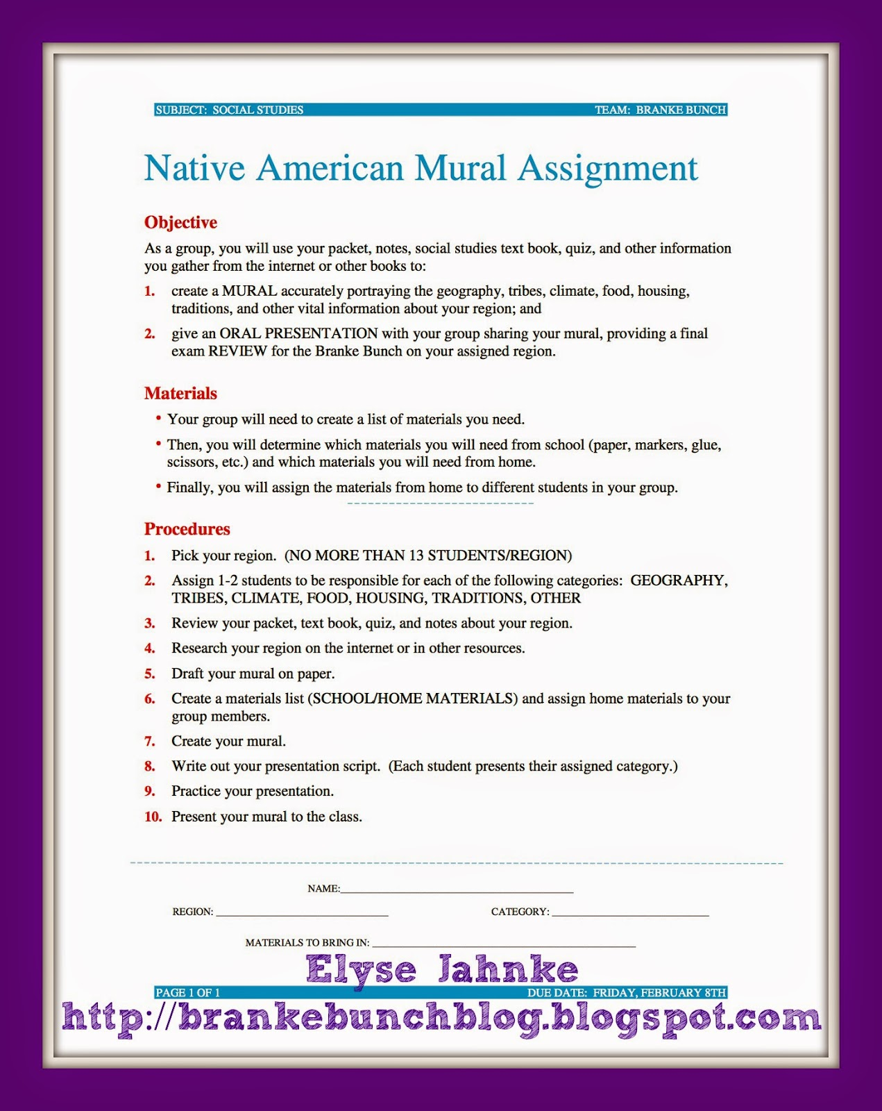 Teaching With Heart and Soul: Bring History to Life: Native