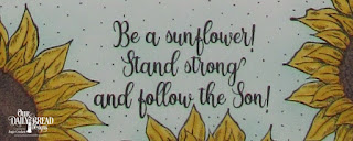 ODBD Be A Sunflower, Calendar Page Designer Angie Crockett