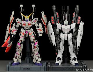 Perbedaan PG Unicorn Dragon Momoko dan PG Unicorn Gundam Bandai
