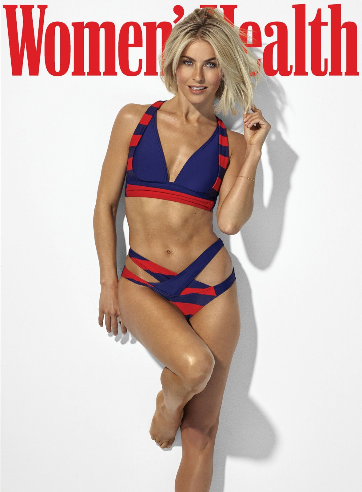 Julianne Hough on Women's Health September 2019 Cover