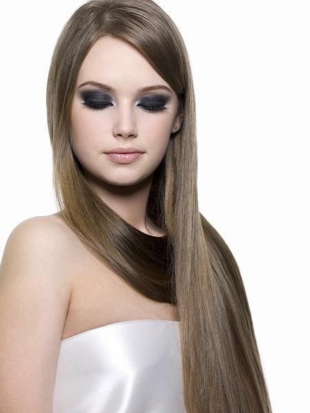 Extensiones de cabello natural ondulado antes y despues de adelgazar