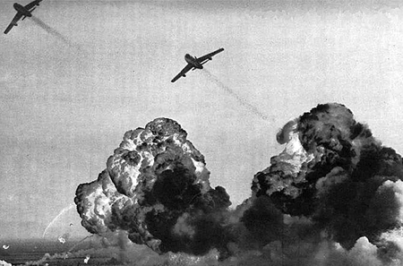 Bombing by India air force
