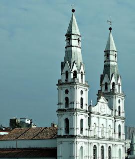 Igreja Nossa Senhora das Dores - Vista da Casa de Cultura Mário Quintana, Porto Alegre