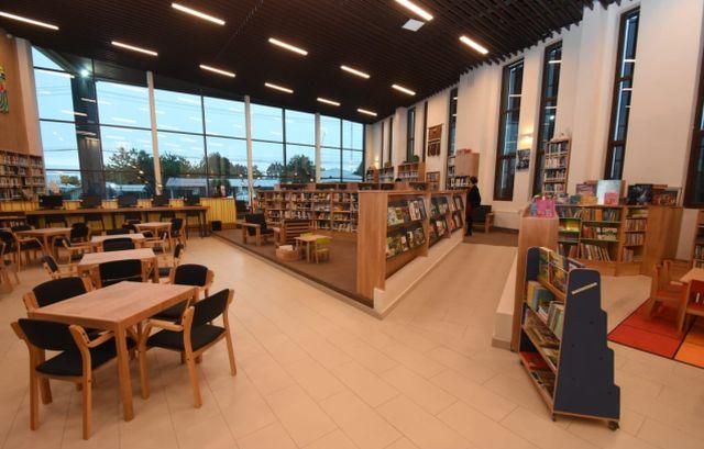 Instalaciones Biblioteca Municipal de Frutillar