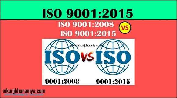 ISO 9001:2008 vs ISO 9001:2015 | Difference between ISO 9001:2008 and ISO 9001:2015