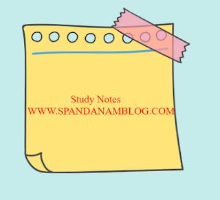 Spandanam Blog Class 1 Notes: Class 1 Notes PDF Download