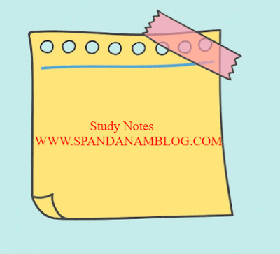 Spandanam Blog Plus One Political Science Notes