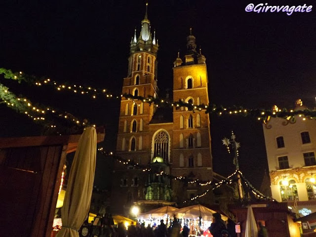 Natale Cracovia Rynek Glowny