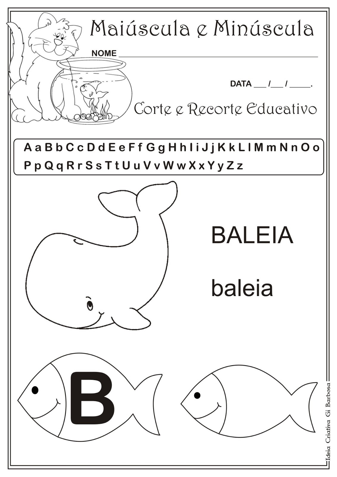 Caderno De Atividades Grátis Para Imprimir Corte E Recorte Educativo