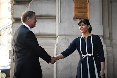 DNA, Laura Codruța Kövesi, Románia, korrupció, Klaus Iohannis