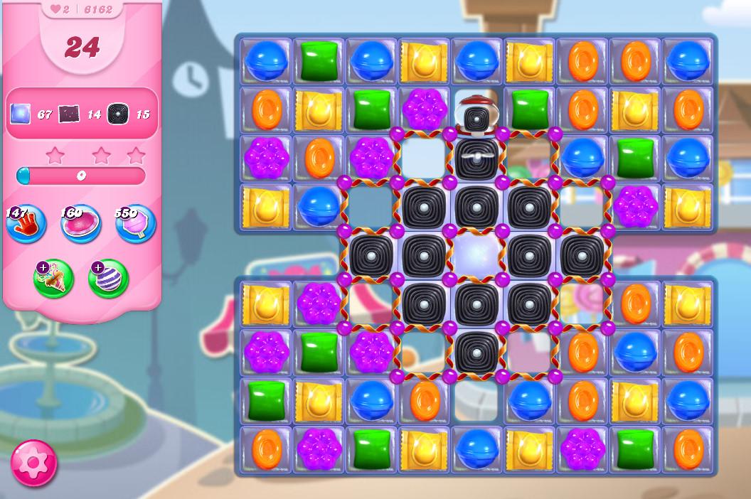Candy Crush Saga level 6162