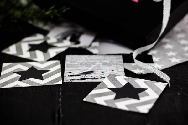 Selbstgemachtes Foto-Memory als Weihnachtsgeschenk