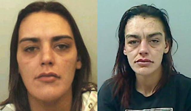 Полицейские сделали фото девушки с разницей в 10 лет, показав, как наркотики изуродовали её лицо