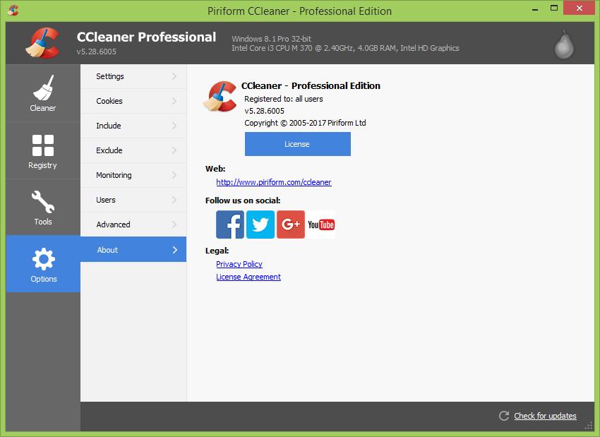 ccleaner technician edition vs professional vs business