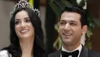لقطات رومانسية في احتفال النجم التركي مراد يلدريم بعيد ميلاد زوجته