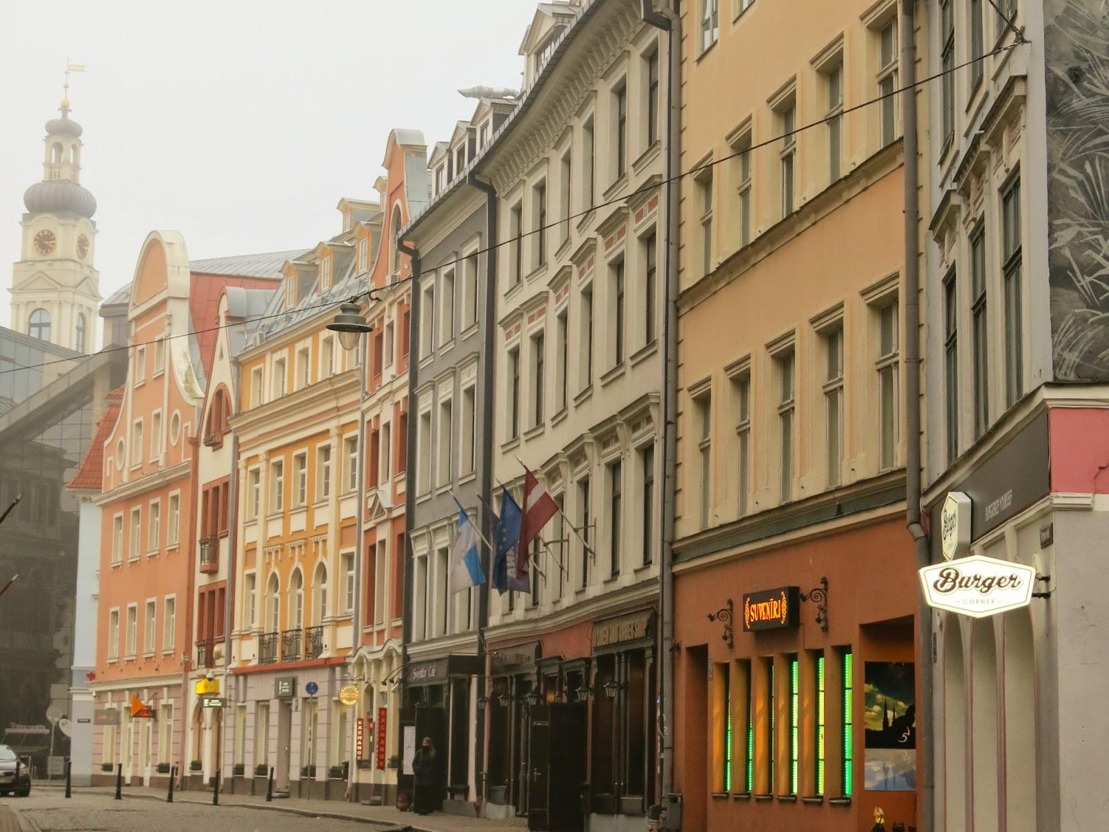 Riga i Lettland