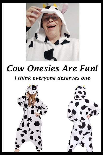 Cow Onesies are Fun!
