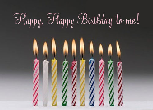 Allyn's Blog: Happy Birthday To Me